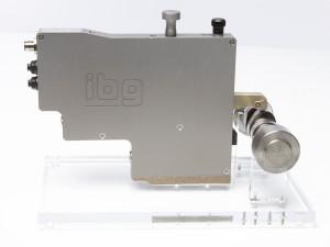 Ibg Nockenprüfbox mit optionaler Tastsonde für die Hart/Weich-Prüfung