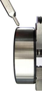 ibg-Innovation Sphäro-X-Type Sonde zur Riß- und Schleifbrandprüfung an einem Lagerring