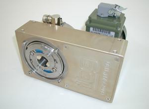 eddyscan H30 mit geöffneter vorderer Abdeckung. Gut zu erkennen ist die verstellbare Sondenscheibe