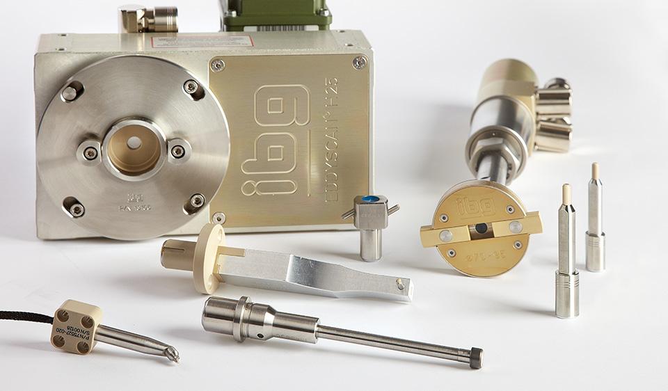 Höchste Prüfgenauigkeit und Temperaturstabilität – Spulen und Sonden unterschiedlicher Bauformen aus dem breiten ibg-Sortiment für die Gefügeprüfung